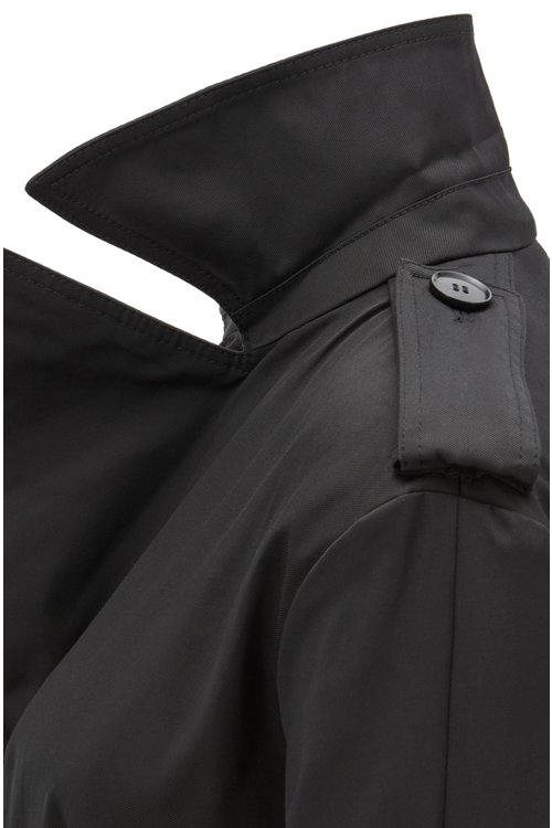 Hugo Boss - Double-breasted trench coat in water-repellent twill - 5