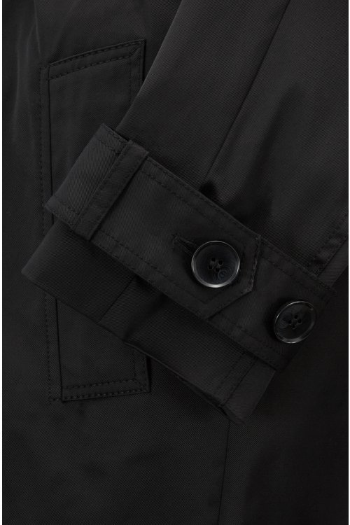 Hugo Boss - Double-breasted trench coat in water-repellent twill - 6