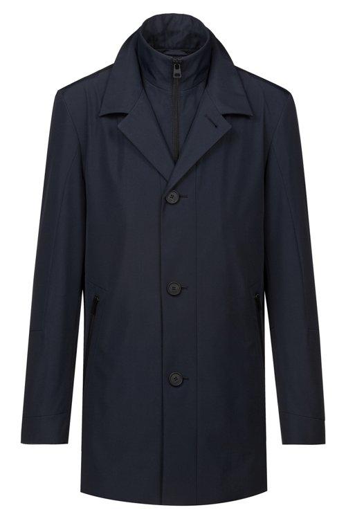 Hugo Boss - Wasserabweisender Regular-Fit Mantel mit herausnehmbarem Innenfutter - 1