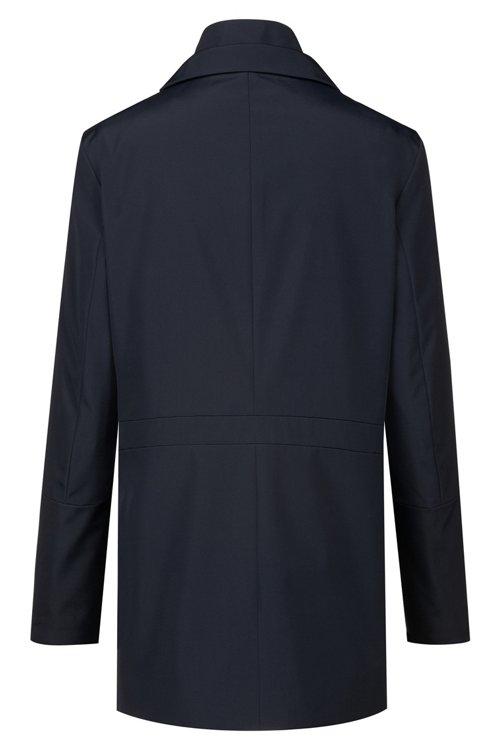 Hugo Boss - Wasserabweisender Regular-Fit Mantel mit herausnehmbarem Innenfutter - 4