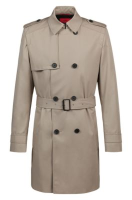 hugo boss trenchcoat herr