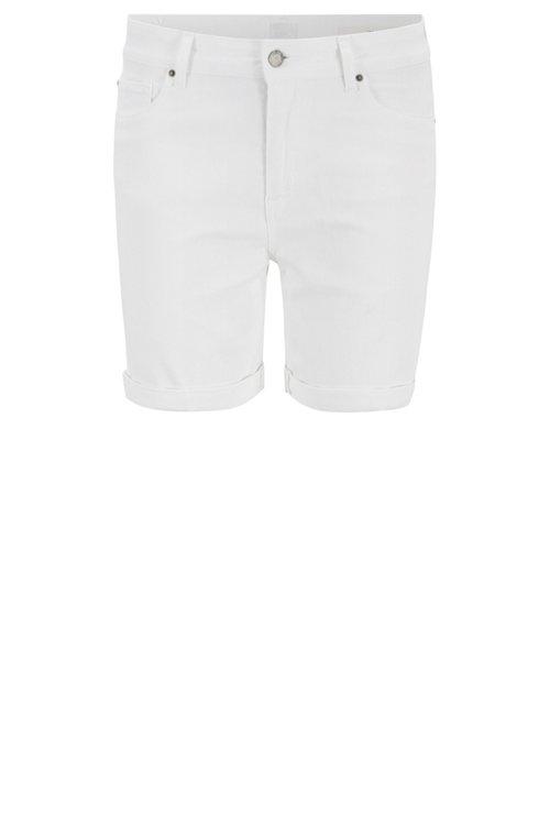 Hugo Boss - Shorts relaxed fit en denim elástico para el máximo confort - 1