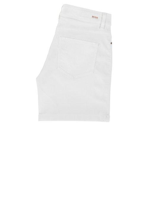 Hugo Boss - Shorts relaxed fit en denim elástico para el máximo confort - 3