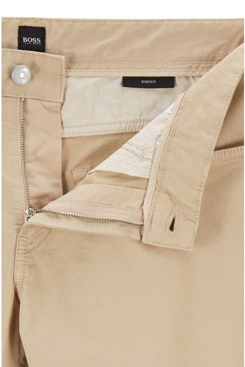 Hugo Boss - Vaqueros slim fit en tejido vaquero satinado con algodón BCI - 6