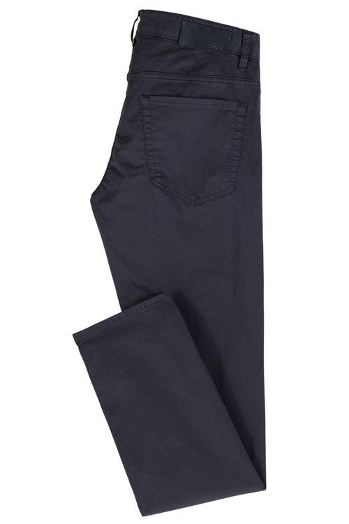 Hugo Boss - Vaqueros slim fit en tejido vaquero satinado con algodón BCI - 3