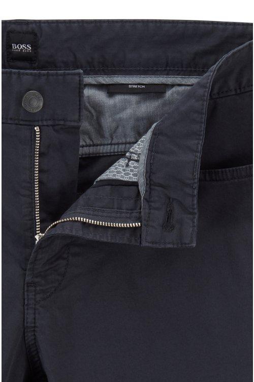 Hugo Boss - Vaqueros slim fit en tejido vaquero satinado con algodón BCI - 5