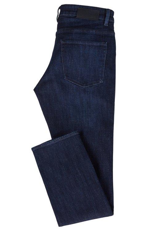 Hugo Boss - Vaqueros slim fit en un cómodo denim elástico azul marino - 5