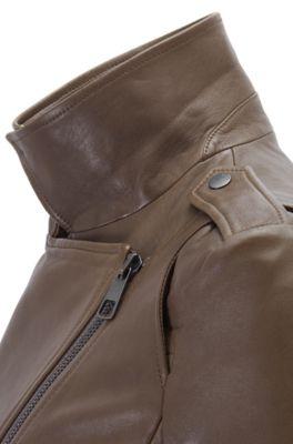 e8edd1aad HUGO BOSS   Leather Jackets for Women   Lambskin leather