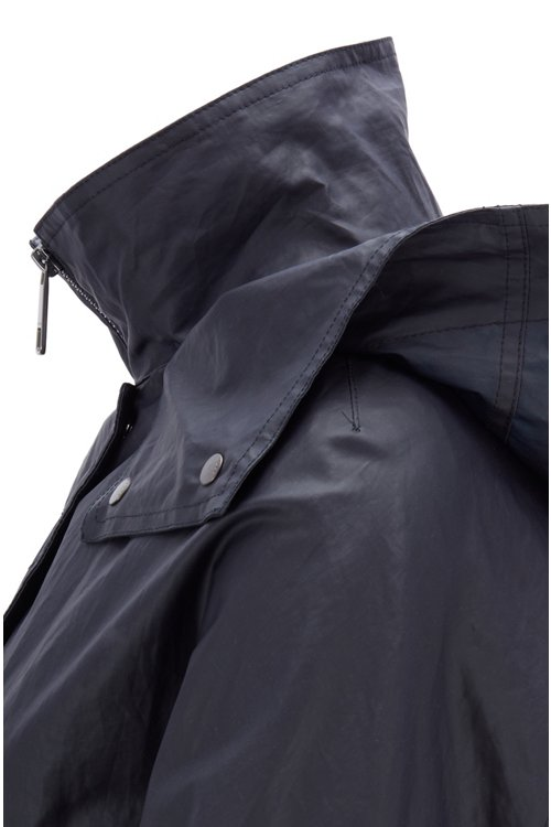 Hugo Boss - Parka jacket in water-repellent waxed cotton - 5