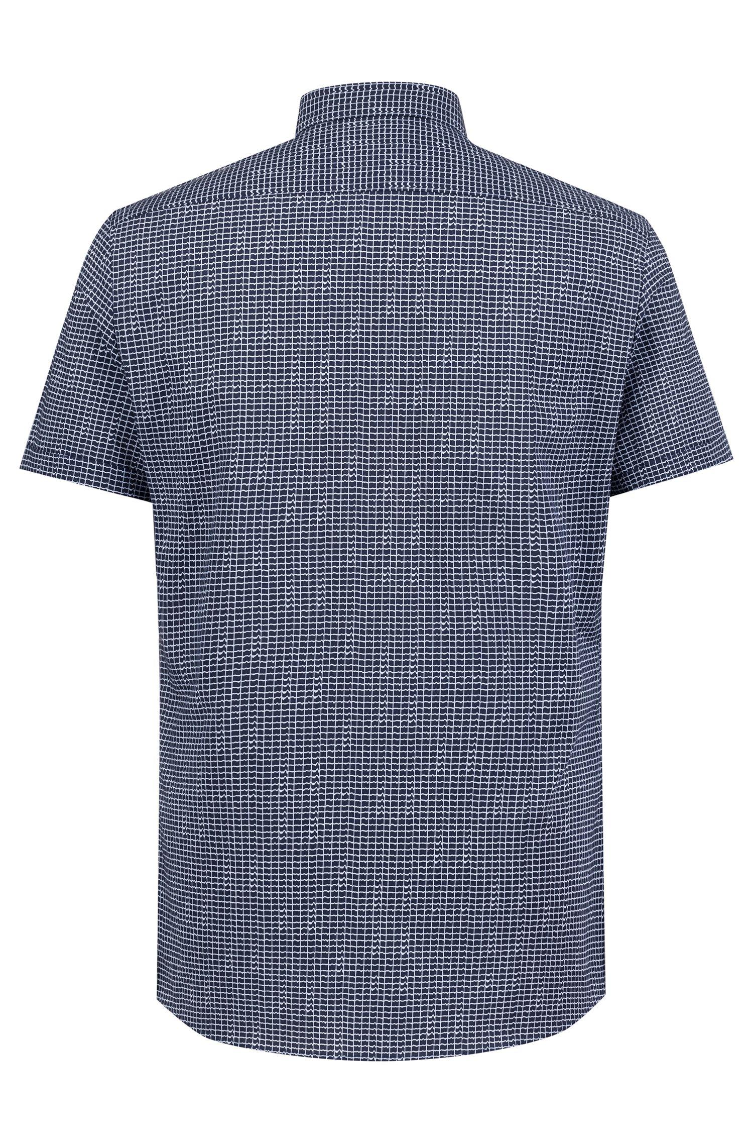 Hugo Boss - Camisa extra slim fit en algodón con estampado integral - 4