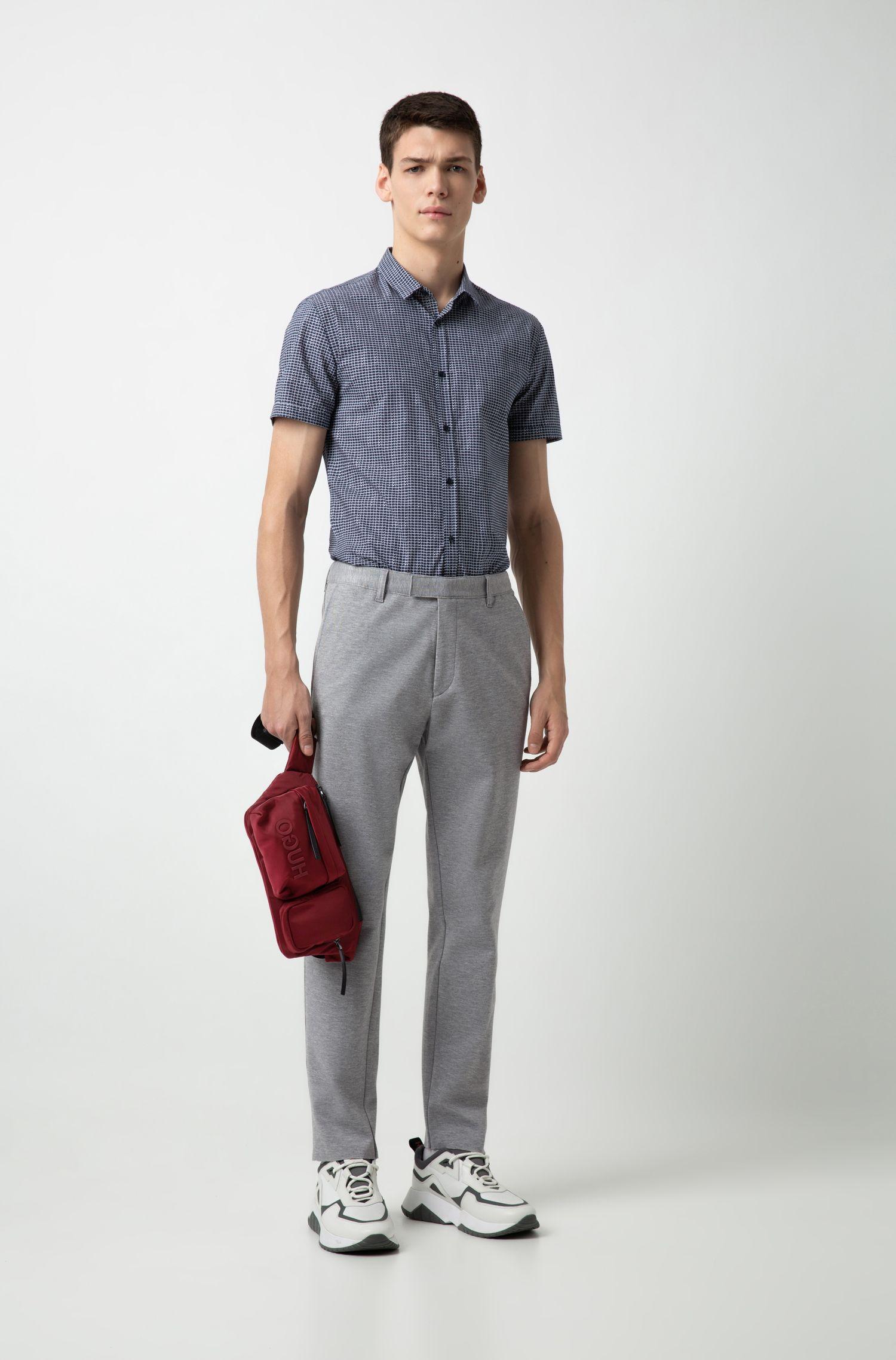 Hugo Boss - Camisa extra slim fit en algodón con estampado integral - 2