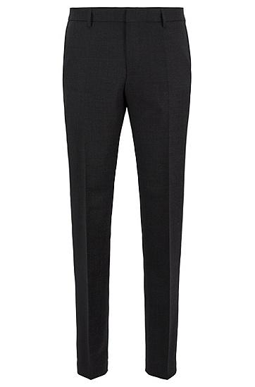 男士商务休闲西装长裤,  001_黑色