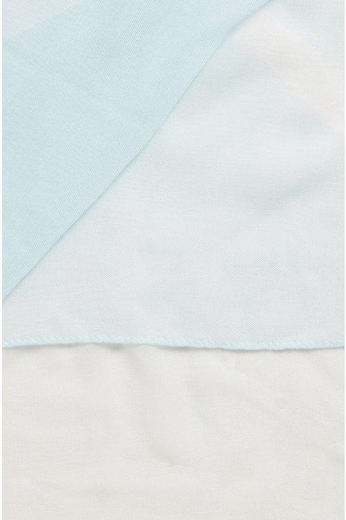 Hugo Boss - Pañuelo cuadrado extragrande con estampado multicolor - 3