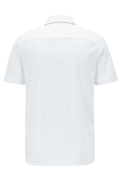 Hugo Boss - Polo slim fit de algodón con cremallera en el cuello - 4