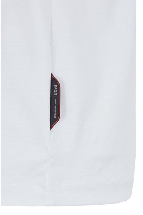 Hugo Boss - Polo slim fit de algodón con cremallera en el cuello - 5