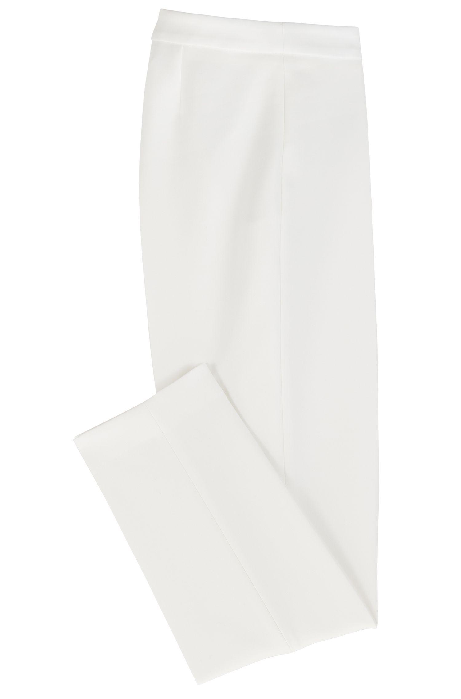 Hugo Boss - Slim-Fit Hose in Cropped-Länge aus portugiesischem Stretch-Gewebe - 4