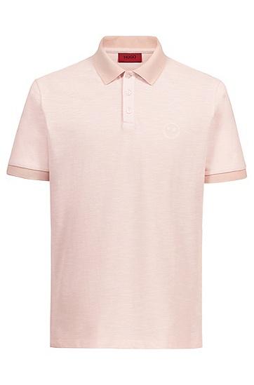 男士休闲短袖POLO衫,  683_浅粉色