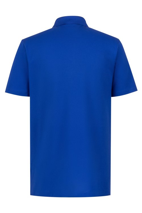 Hugo Boss - Poloshirt aus Stretch-Baumwolle mit Logo-Grafik - 4