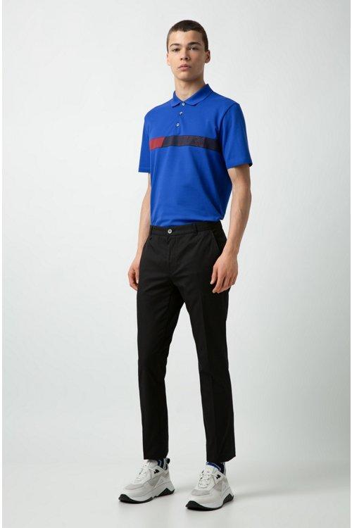 Hugo Boss - Poloshirt aus Stretch-Baumwolle mit Logo-Grafik - 2