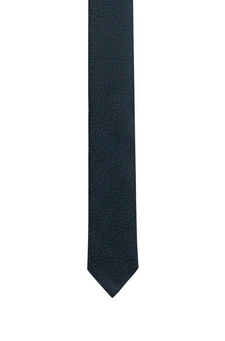 Cravate jacquard en pure soie, Fantaisie