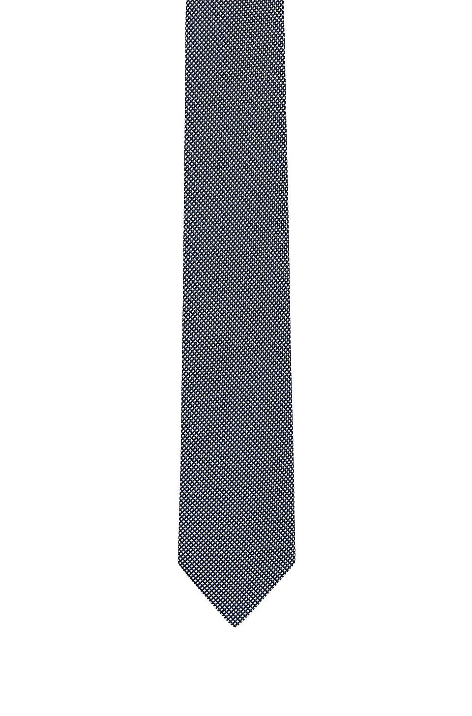 67a6cb451a HUGO - Silk-jacquard tie with micro pattern