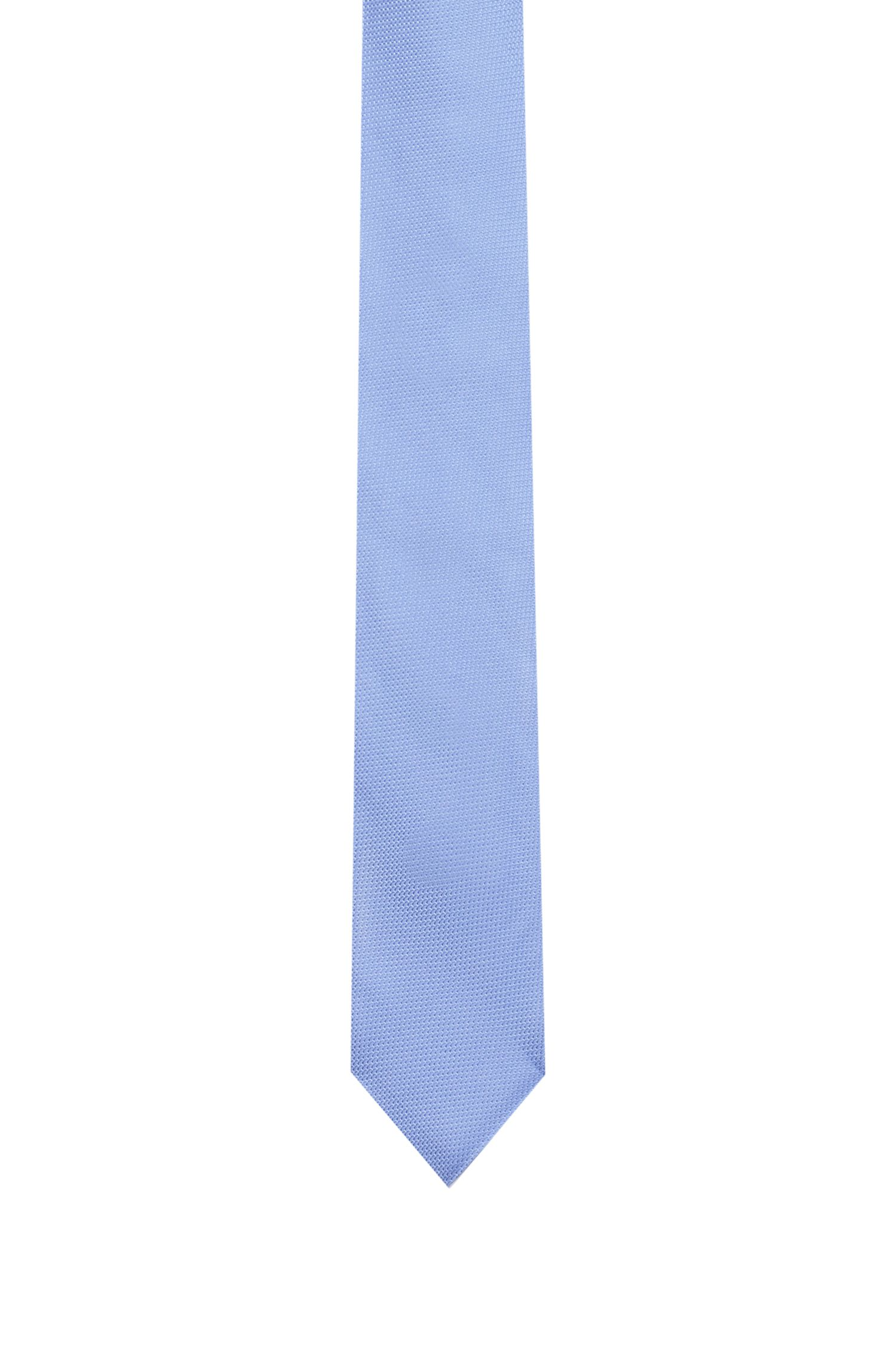 Hugo Boss - Micro-patterned tie in pure silk jacquard - 1