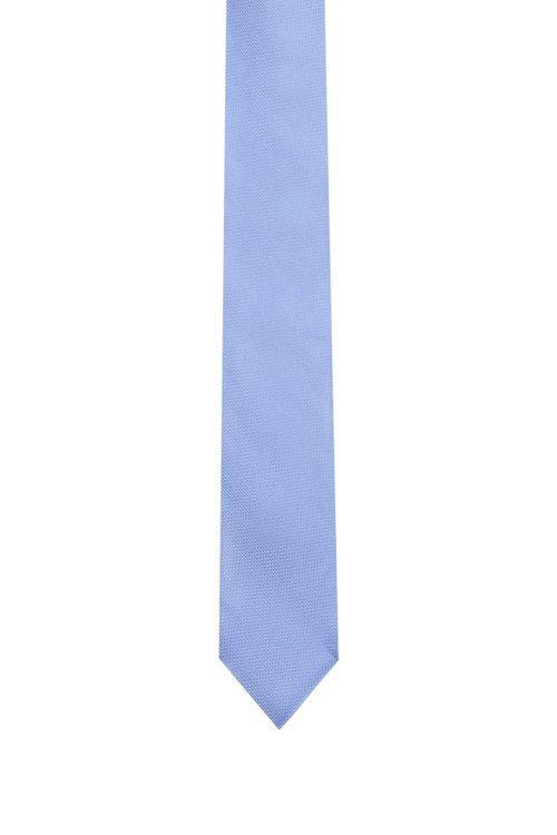 Hugo Boss - Fein gemusterte Krawatte aus Seiden-Jacquard - 1