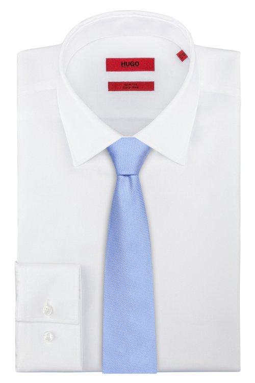 Hugo Boss - Fein gemusterte Krawatte aus Seiden-Jacquard - 2