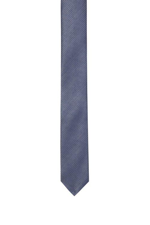 Hugo Boss - Dezent gemusterte Krawatte aus Seiden-Jacquard - 1
