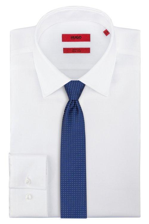 Hugo Boss - Gerade geschnittene Krawatte aus gemustertem Seiden-Jacquard - 2