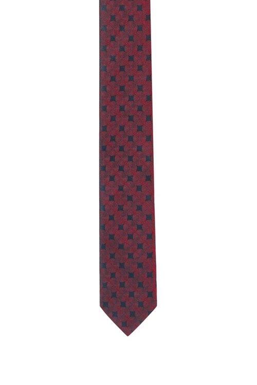 Hugo Boss - Corbata business en seda pura con tejido jacquard - 1