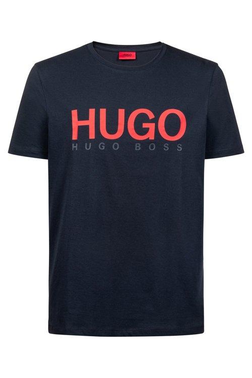 Hugo Boss - T-Shirt aus Baumwoll-Jersey mit Rundhalsausschnitt und Logo - 1