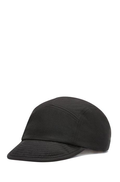 d83723031ed Adjustable cap in technical twill with under-peak logo, Black