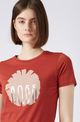 6d4365d9d HUGO BOSS | Print T-Shirts for Women | Casual & Relaxed