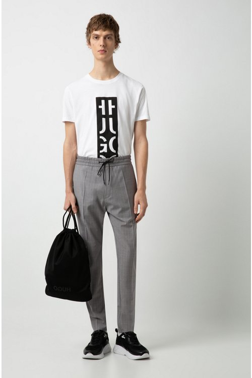 Hugo Boss - Relaxed-Fit T-Shirt mit Grafik-Logo - 2