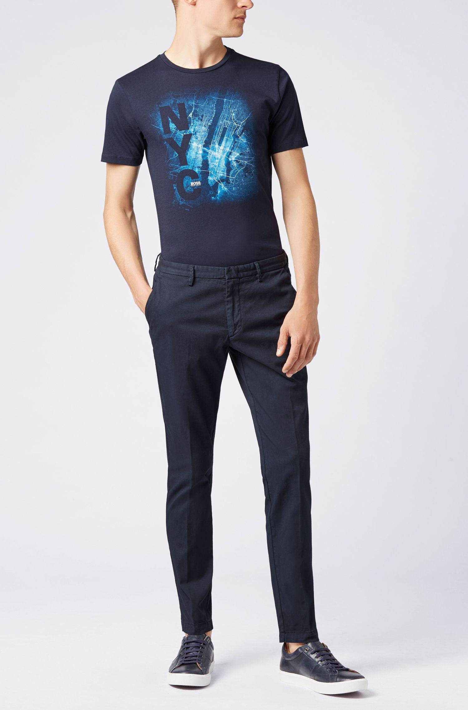 HUGO BOSS T-shirt Formule E en édition limitée, à motif ville de New York imprimé