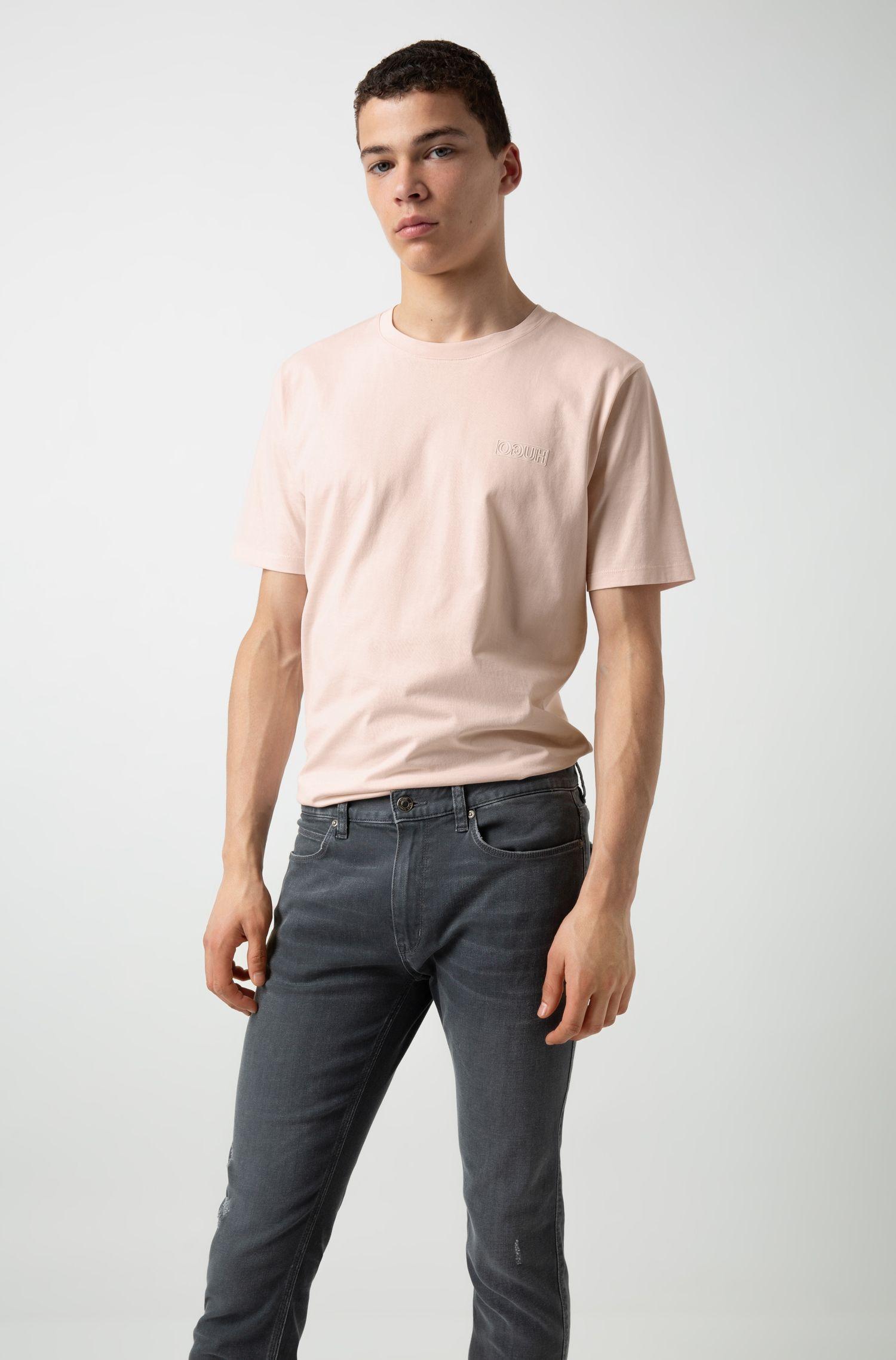 Skinny-Fit Jeans aus Stretch-Denim, Anthrazit