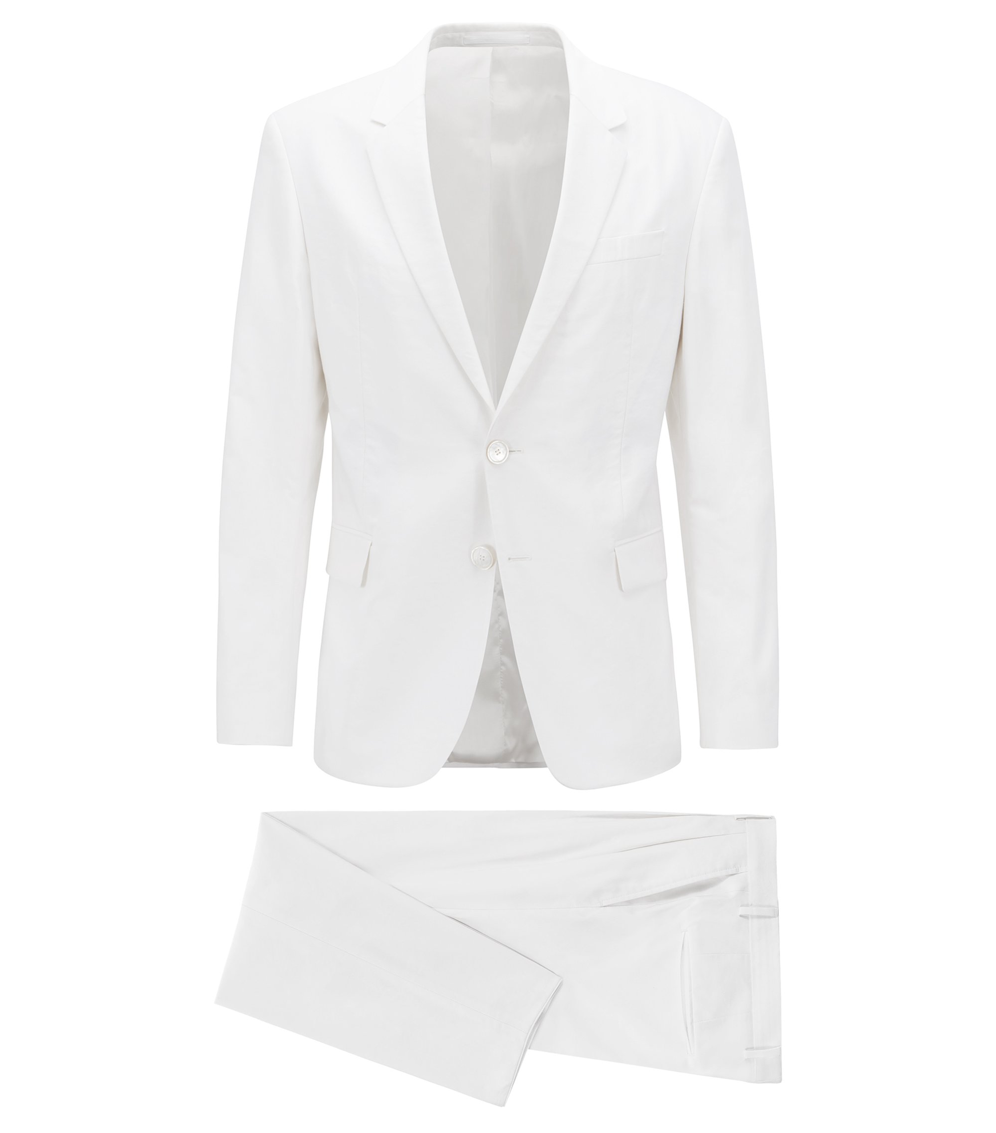 Limited Edition iconic white suit, White
