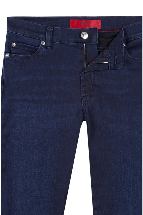 Hugo Boss - Extra-slim-fit jeans in stretch denim - 5