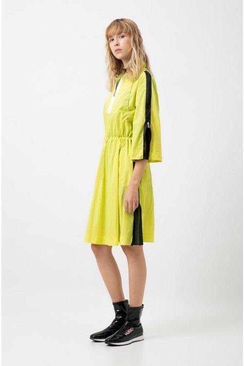 Hugo Boss - Vestido relaxed fit en estilo cortavientos en espectacular tejido técnico - 2