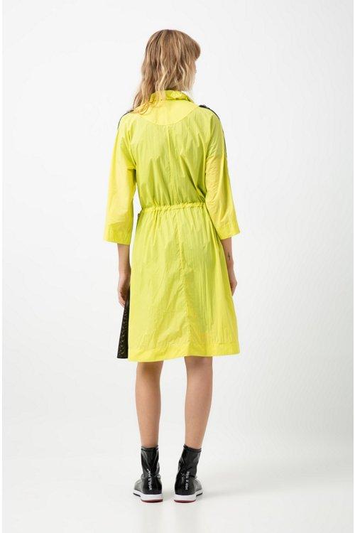 Hugo Boss - Vestido relaxed fit en estilo cortavientos en espectacular tejido técnico - 4