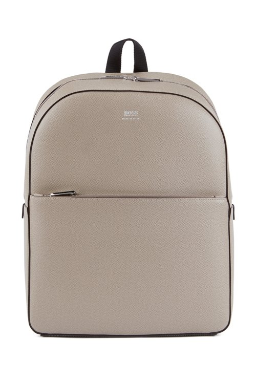 Hugo Boss - Signature Collection backpack in printed Italian calf leather - 1