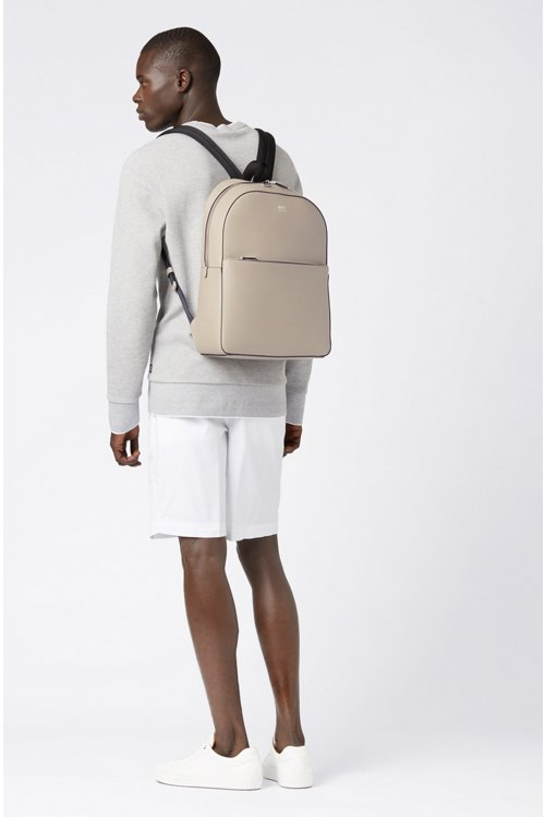 Hugo Boss - Signature Collection backpack in printed Italian calf leather - 2