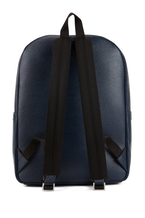 Hugo Boss - Signature Collection backpack in printed Italian calf leather - 6