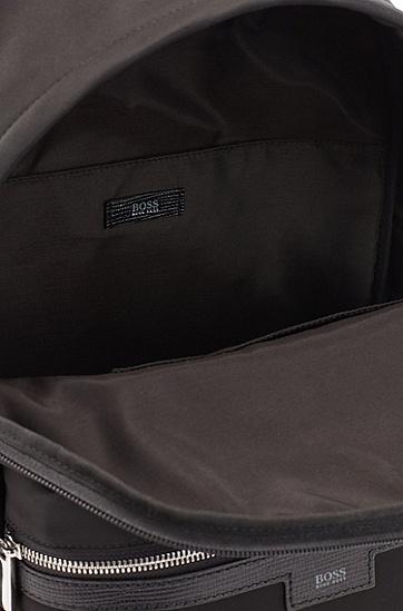 男士商务休闲双肩包,  001_黑色