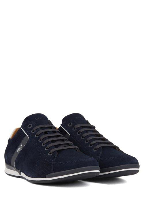 Hugo Boss - Sneakers aus Veloursleder mit speziellem Innenfutter - 2