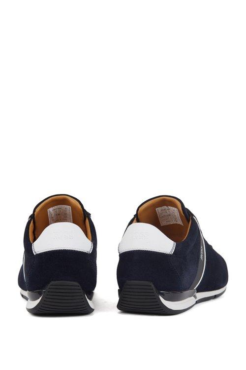 Hugo Boss - Sneakers aus Veloursleder mit speziellem Innenfutter - 6
