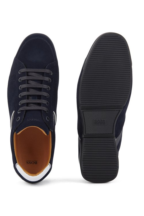Hugo Boss - Sneakers aus Veloursleder mit speziellem Innenfutter - 5