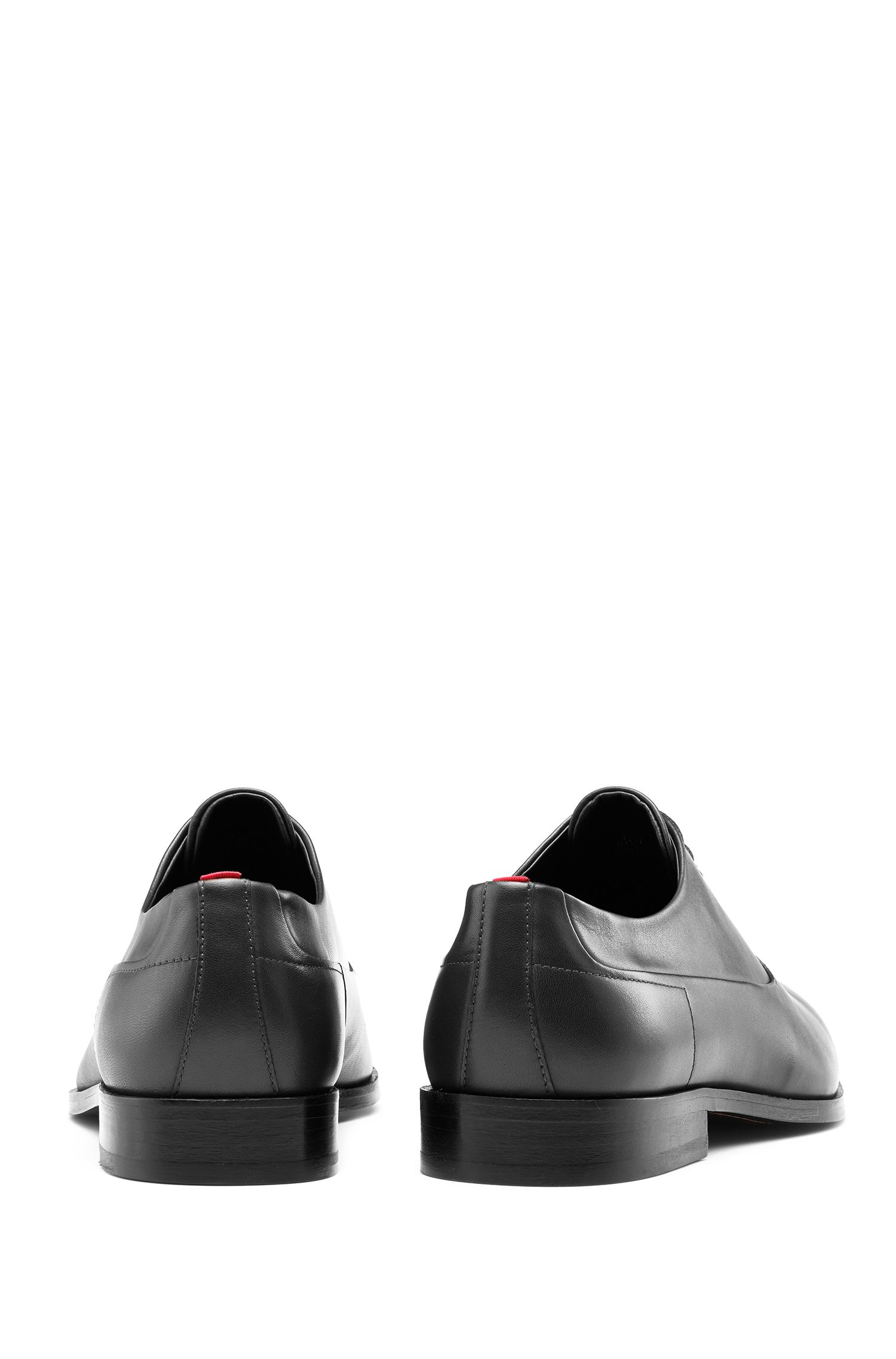 Oxford shoes in box calf leather, Black