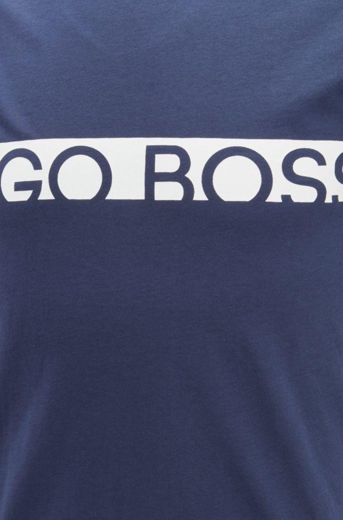 Slim-fit T-shirt met logo en UPF50+-coating